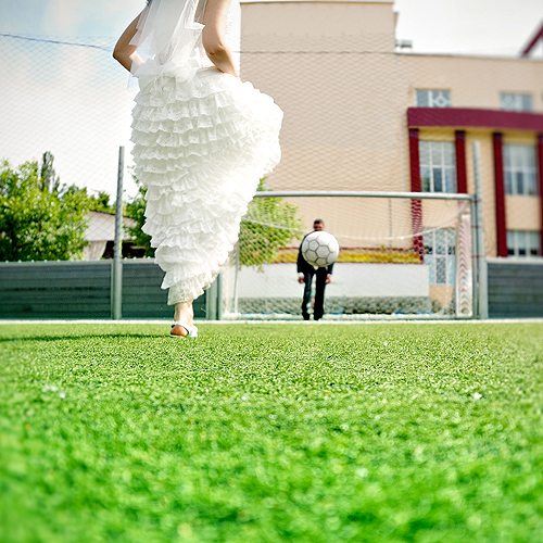 To work, marriage takes two people playing as a team
